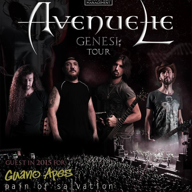 Avenue Lie Tour 2015