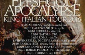 """King Italian Tour 2016"": i Fleshgod Apocalypse in Italia per 14 date"