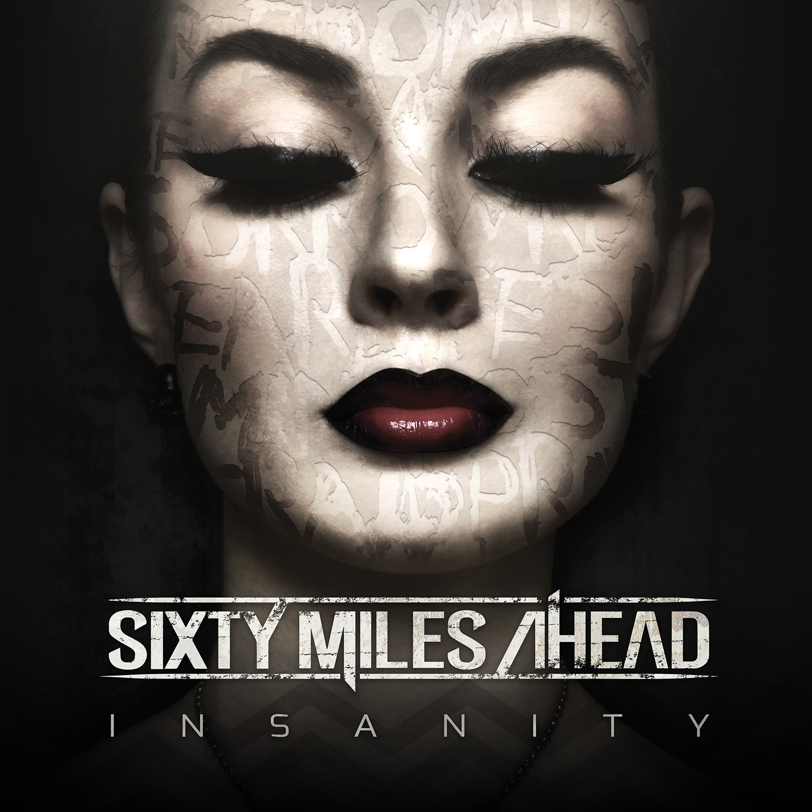 Sixty Miles Ahead - Insanity - Album Cover