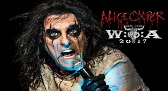 """Alice Cooper: live video di """"Feed My Frankenstein"""" e """"School's Out"""""""