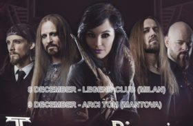 Tour Of Dimensions: Xandria in Italia per due date live a Dicembre 2017