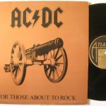 "23 novembre 1981 - esce ""For Those About to Rock We Salute You"" degli AC/DC"