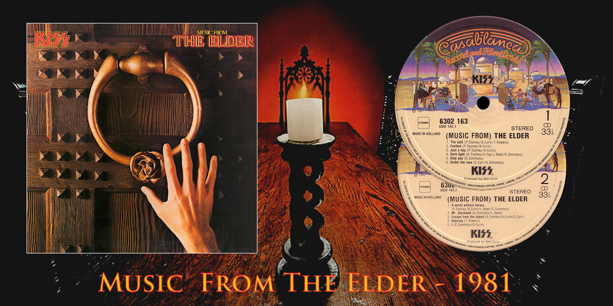 "10 novembre 1981 - esce ""Music From The Elder"" dei KISS"