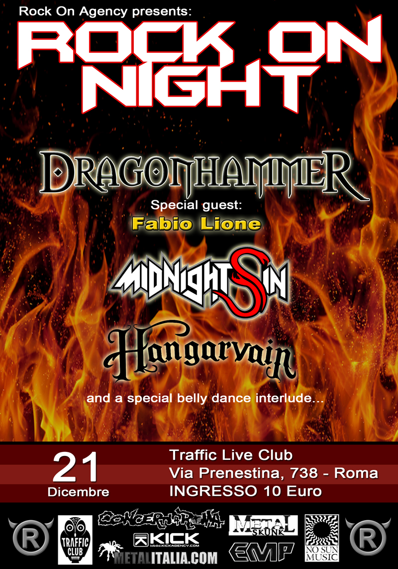 Rock On Night - 21 dicembre 2014