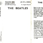 "22 novembre 1968 - esce ""The Beatles"" dei Beatles"