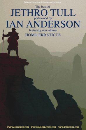 Ian Anderson: 4 date in Italia ad aprile