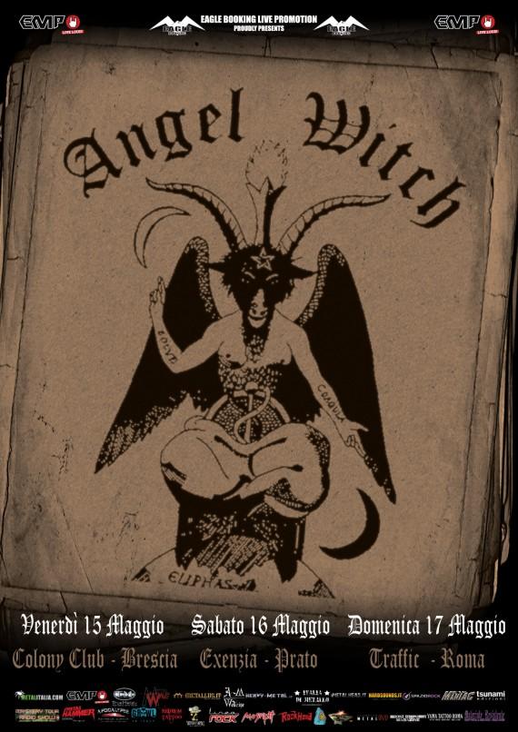 Angel Witch @ Traffic - 17 05 2015