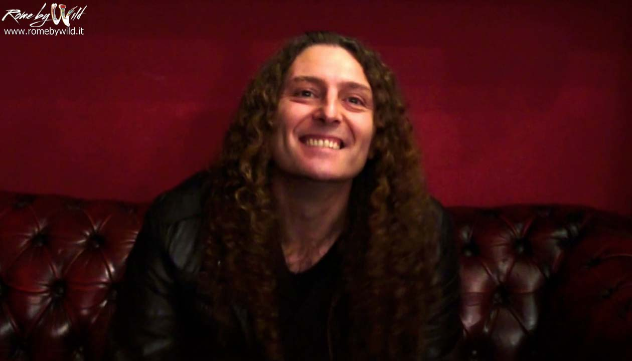 Rock by Wild intervista Fabio Lione @ Traffic - 21 12 2014