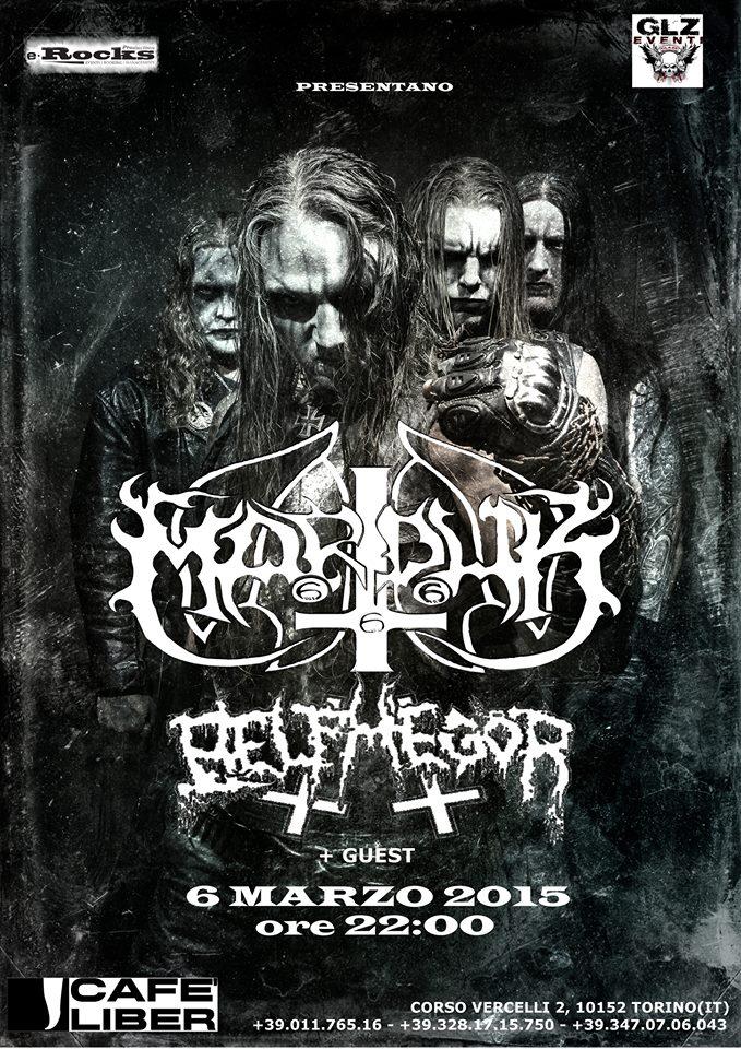 Marduk + Belphegor @ Cafè Liber (TO) - 06 03 2015