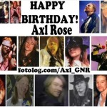 6 febbraio 1962 - nasce Axl Rose