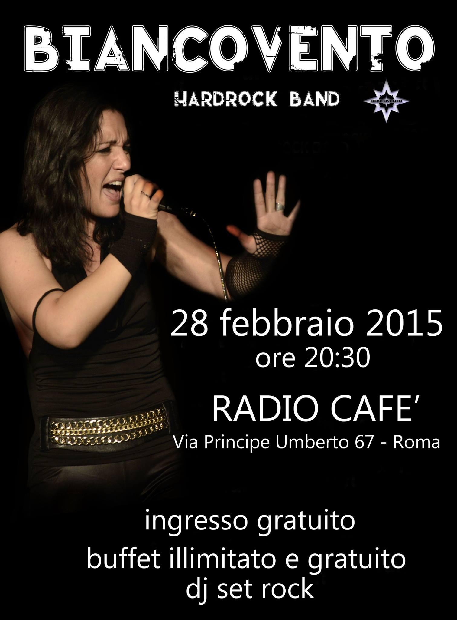 Biancovento @ Radio Cafè - 28 02 2015
