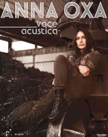 "ANNA OXA torna live con ""VOCE ACUSTICA"""