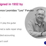 Leo Fender | 10 agosto 1909 – 21 marzo 1991