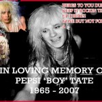 Pepsi Tate | 10 marzo 1965 – 18 settembre 2007