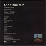 "21 marzo 1983 - esce ""The Final Cut"" dei Pink Floyd"