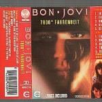 "20 aprile 1985 - esce ""7800° Fahrenheit"" dei Bon Jovi"