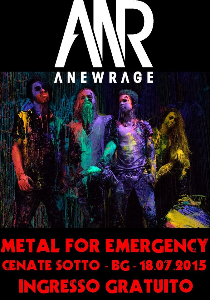 AnewRage @ Metal For Emergency - 18 07 2015