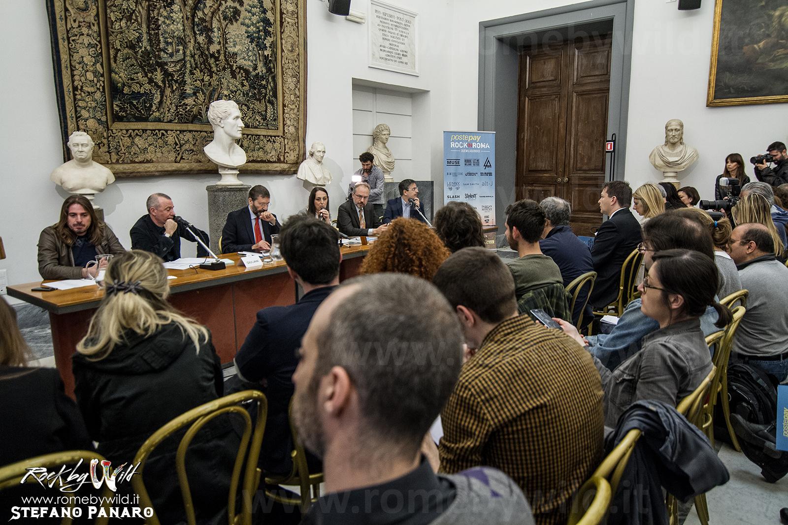 Conferenza Stampa Presentazione Rock in Roma 2015 @ Campidoglio - 14 04 2015