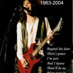 Alex Nelson | 25 dicembre 1945 - 17 maggio 2004