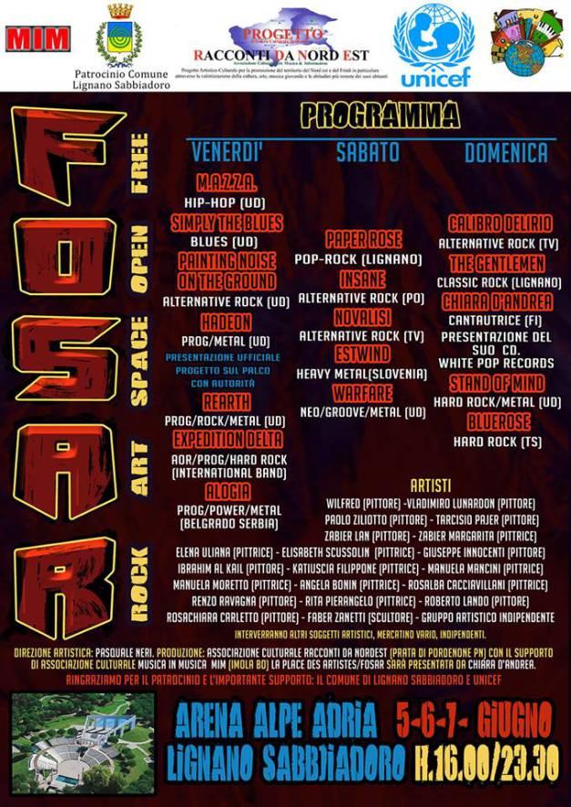 Fosar Festival @ Arena Alpe Adria - 5-6-7 06 2015