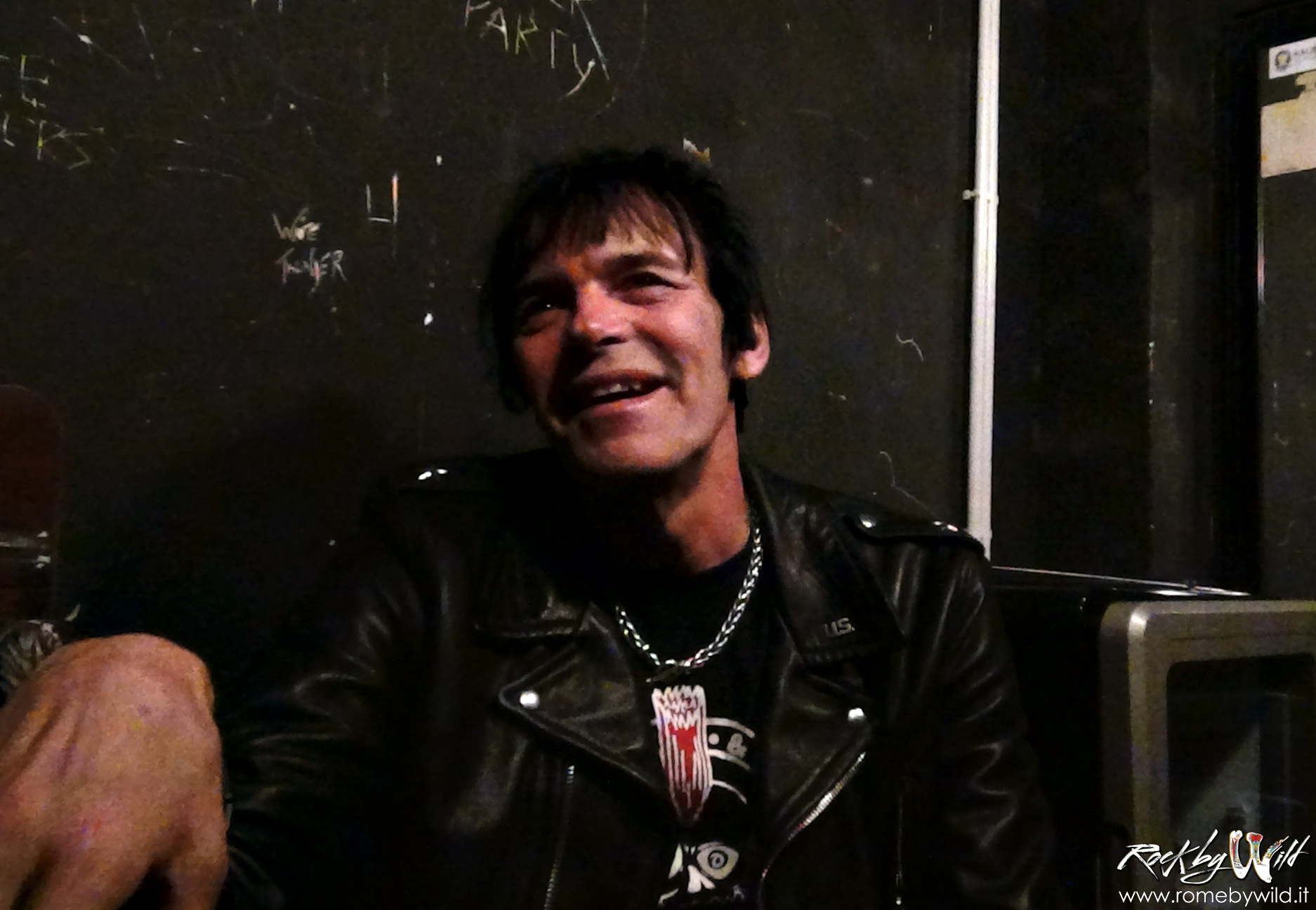 Rock by Wild intervista Richie Ramone @ Locanda Atlantide - 05 05 2015