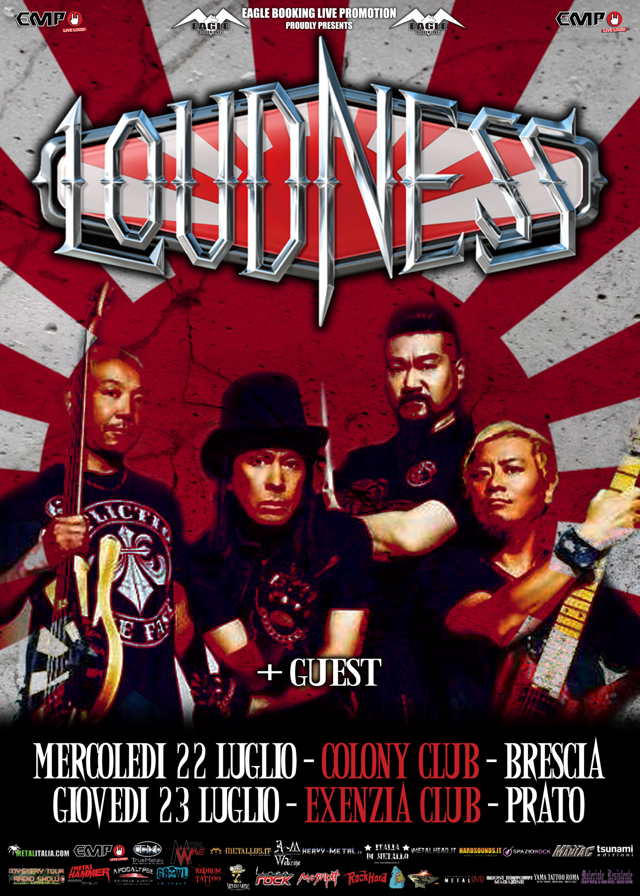 Loudness in Italia a Luglio 2015