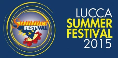 Lucca Summer Festival 2015 Logo