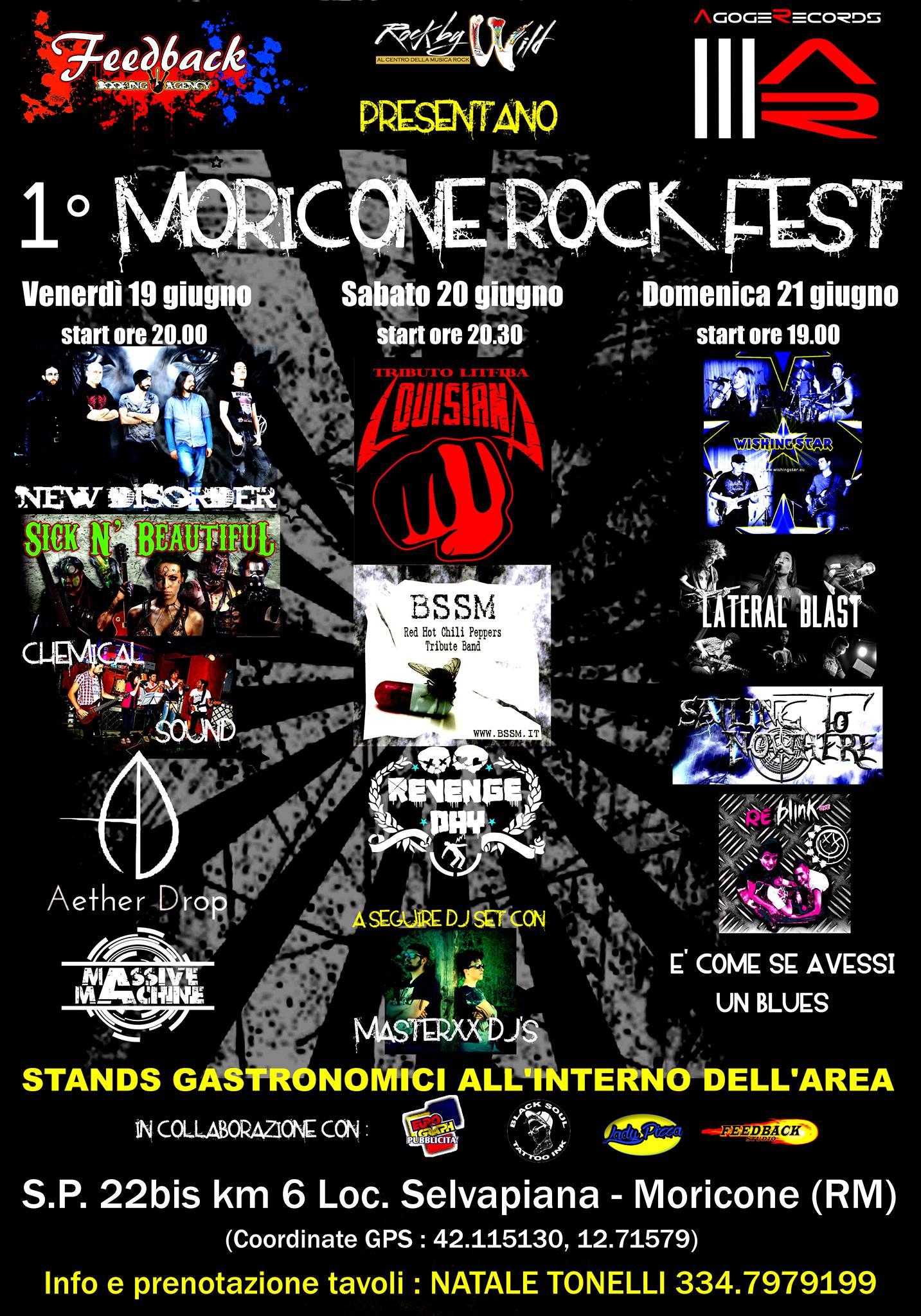 Moricone Rock Fest - 19-21 giugno 2015