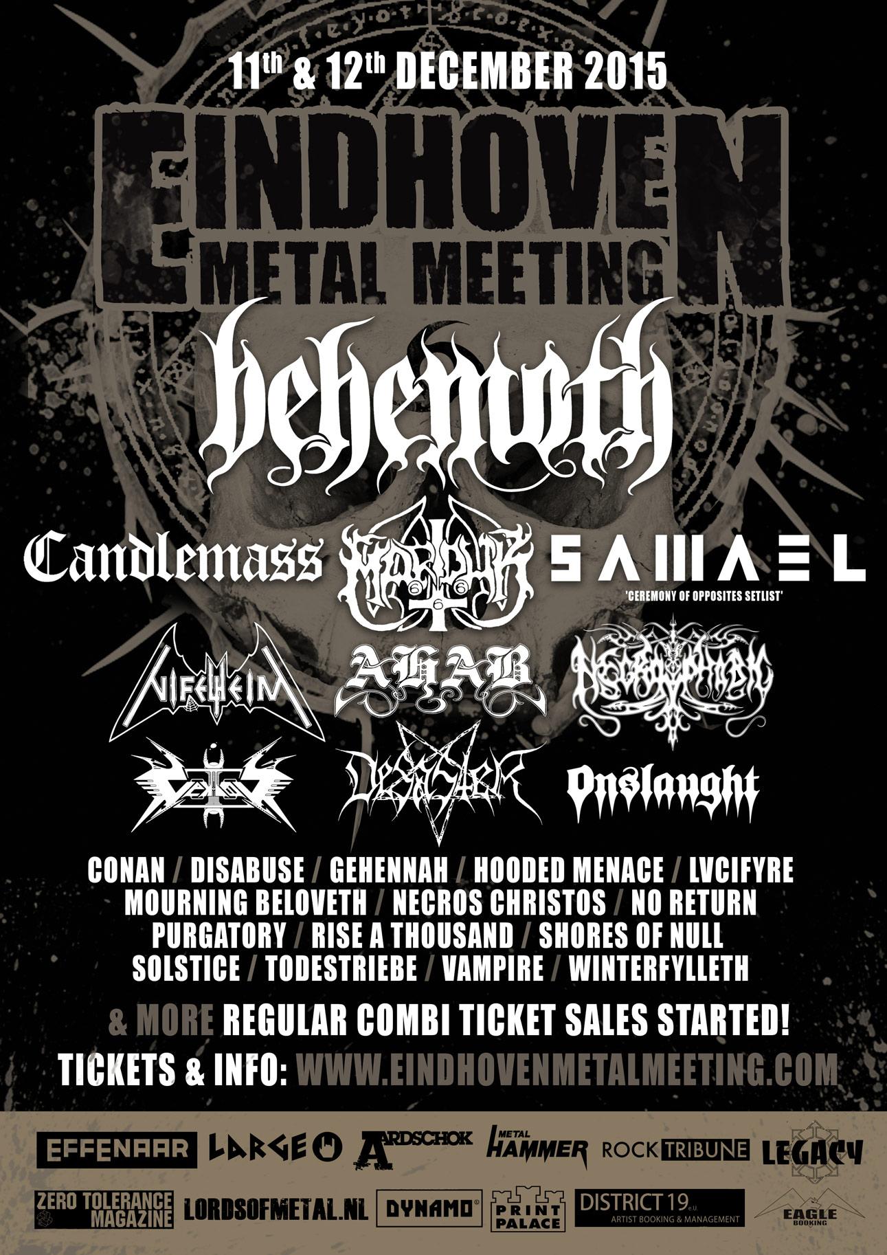 Eindhoven Metal Meeting 2015 - stato dell'arte giugno