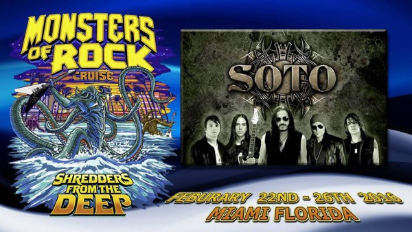 Soto @ Monsters Of Rock Cruise