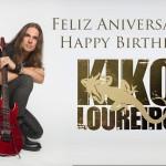 16 giugno 1972 - nasce Kiko Loureiro