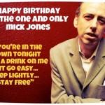 26 giugno 1955 - nasce Mick Jones