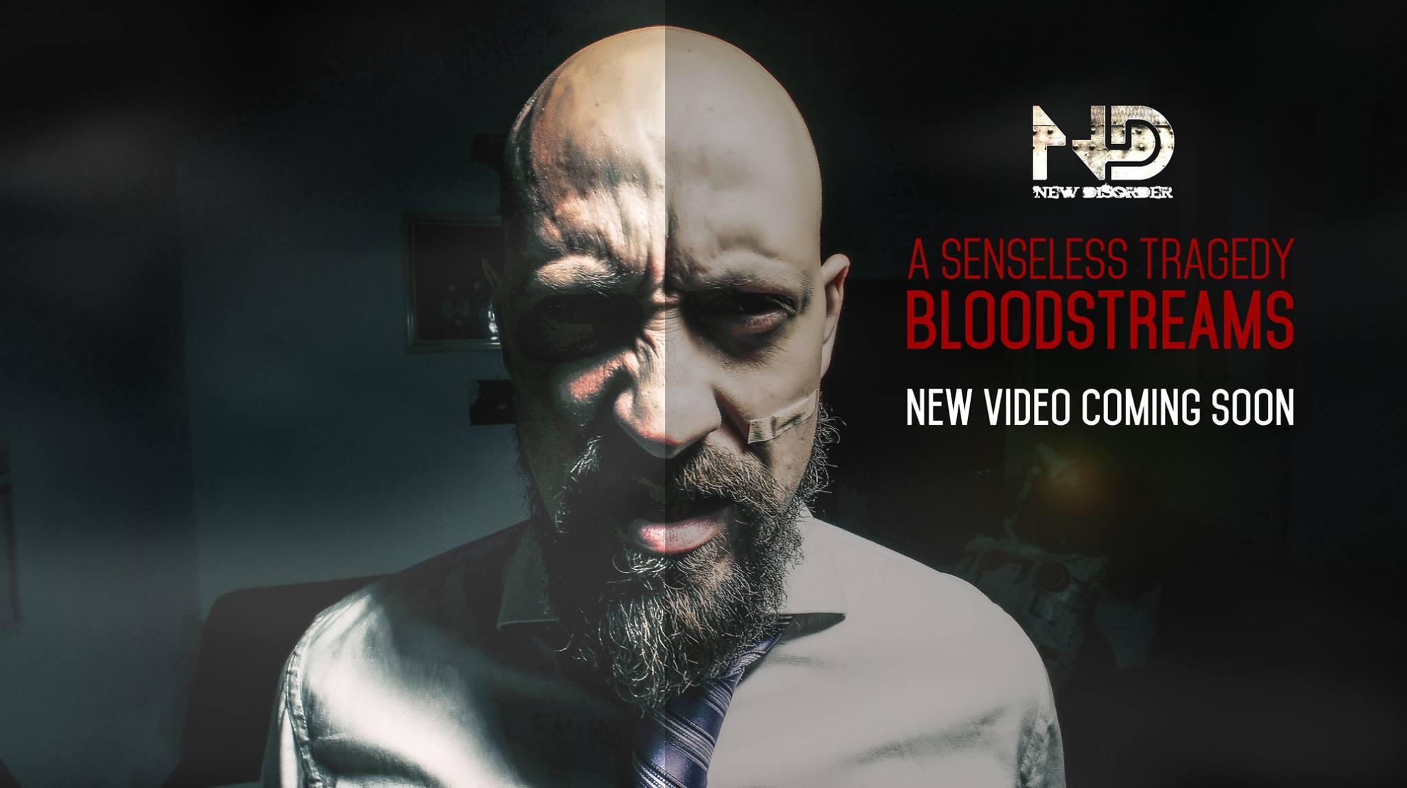 "New Disorder - ""A Senseless Tragedy (Bloodstreams)"" Promo"