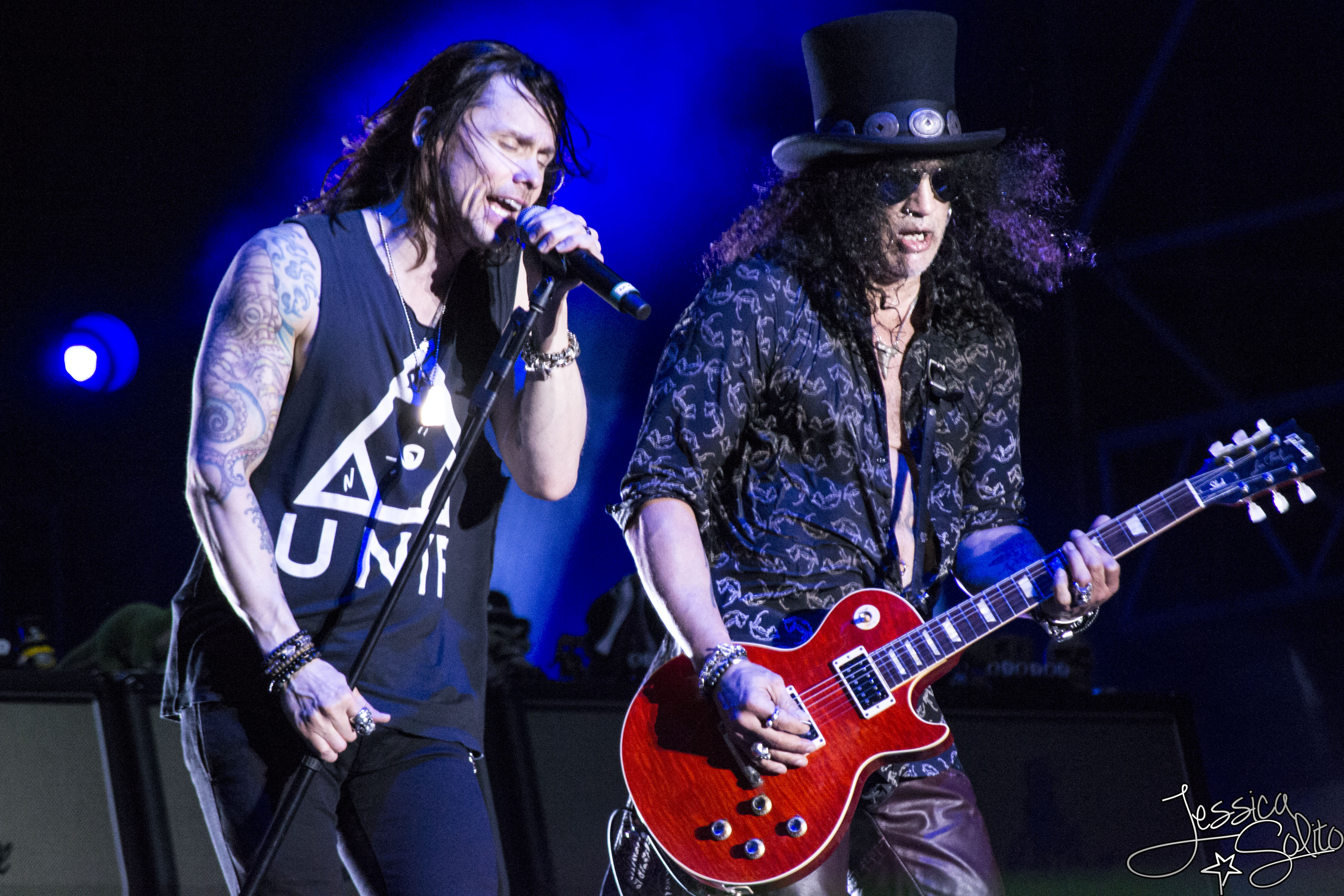 Slash feat. Myles Kennedy and The Conspirators @ Rock in Roma - 23 06 2015
