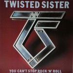 "27 giugno 1983 - esce ""You Can't Stop Rock'n'Roll"" dei Twisted Sister"
