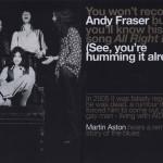 Andy Fraser | 3 luglio 1952 – 16 marzo 2015