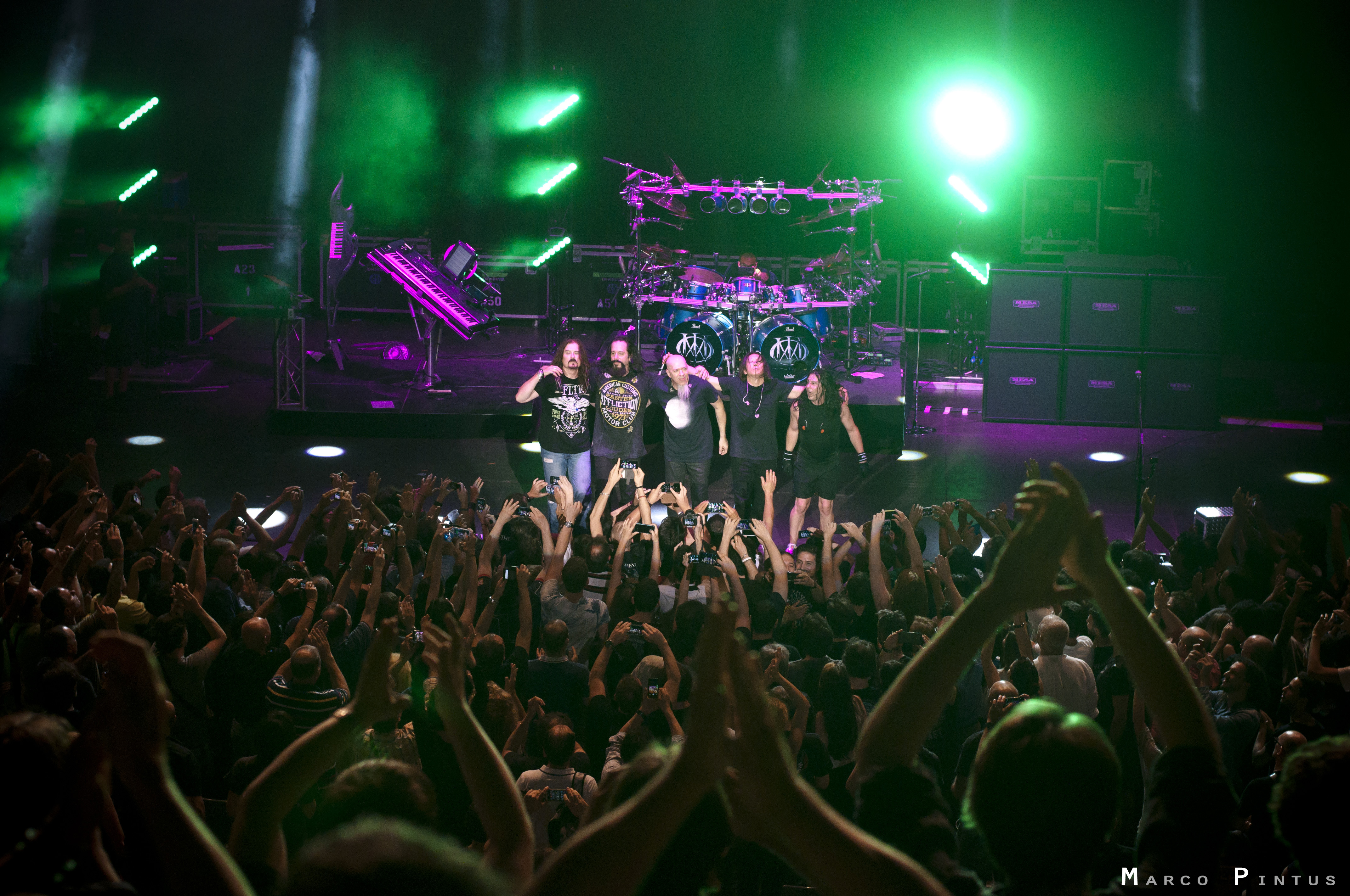 Dream Theater + Evergrey + Virtual Symmetry @ Auditorium - 01 07 2015