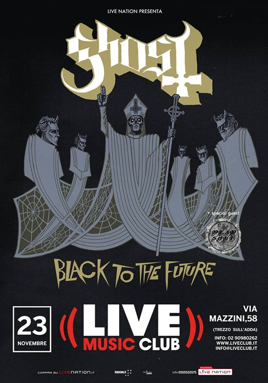 "Ghost - ""Black To The Future"" @ Live Club - 23 11 2015"