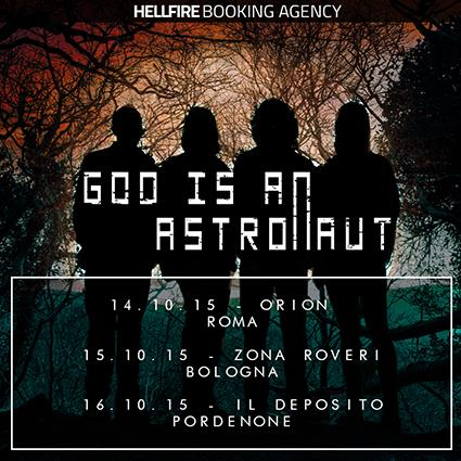 God Is An Astronaut - Tour in Italia 2015
