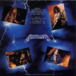 "27 luglio 1984 - esce ""Ride the Lightning"" dei Metallica"