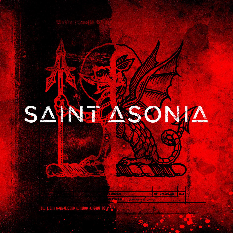 "Saint Asonia - ""Saint Asonia"" Cover"