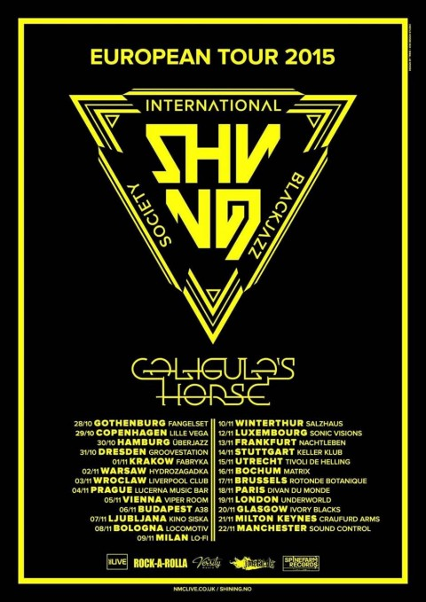 Shining European Tour 2015