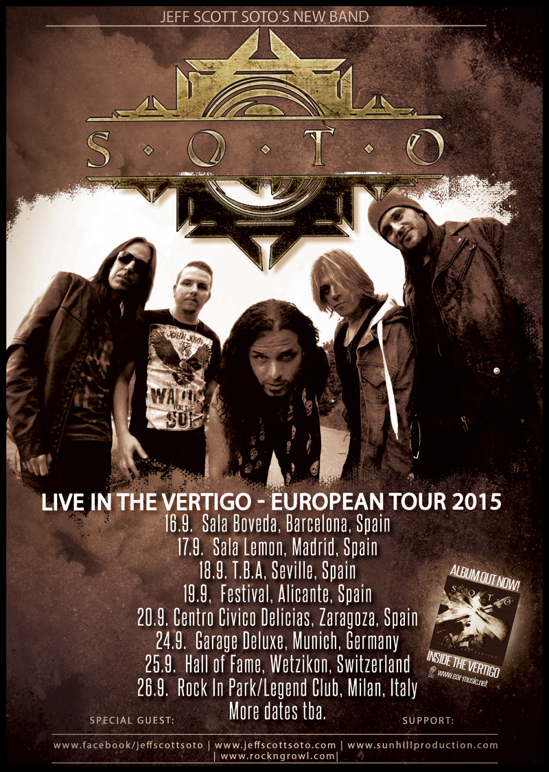 Soto - Inside The Vertigo Tour 2015