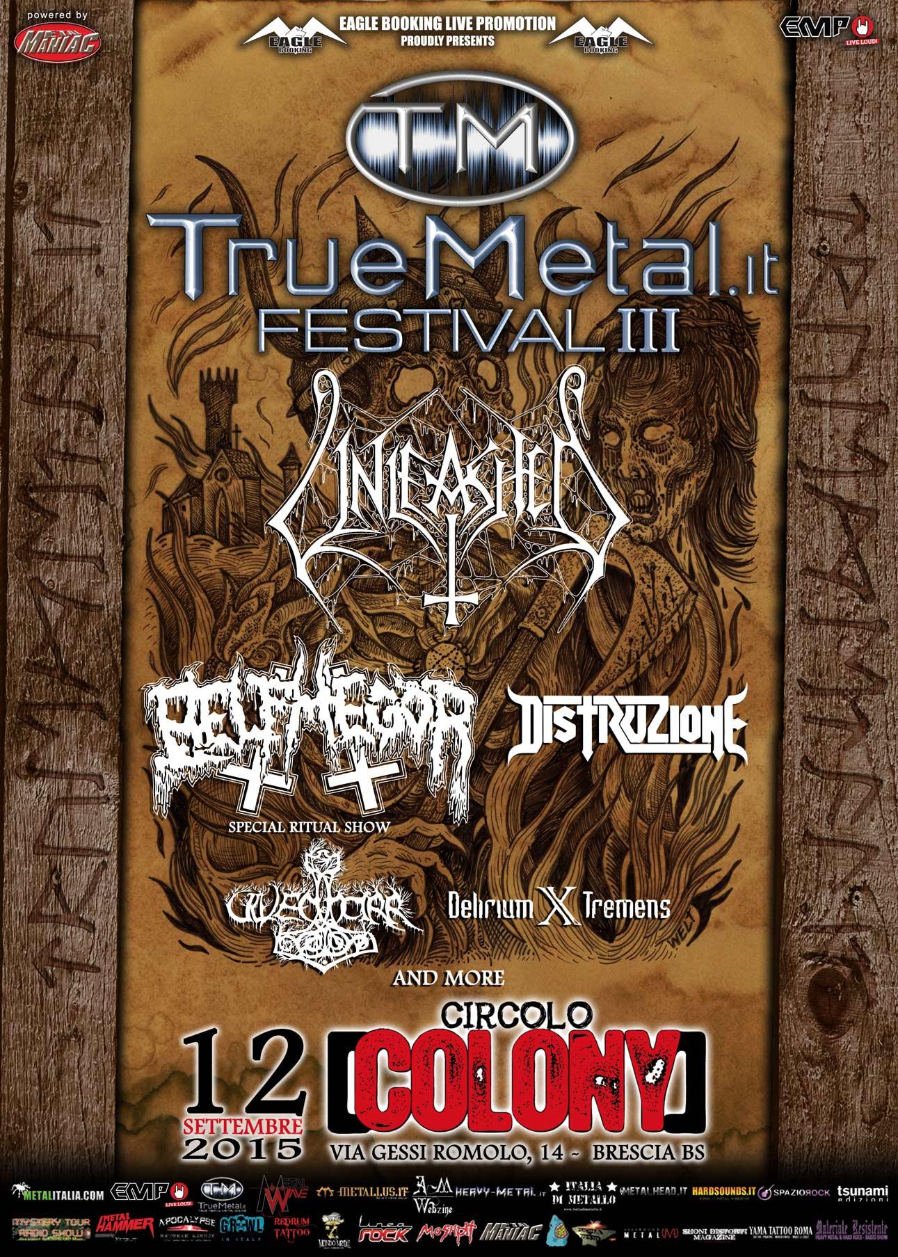 Truemetal Festival 2015 - Nuove Conferme