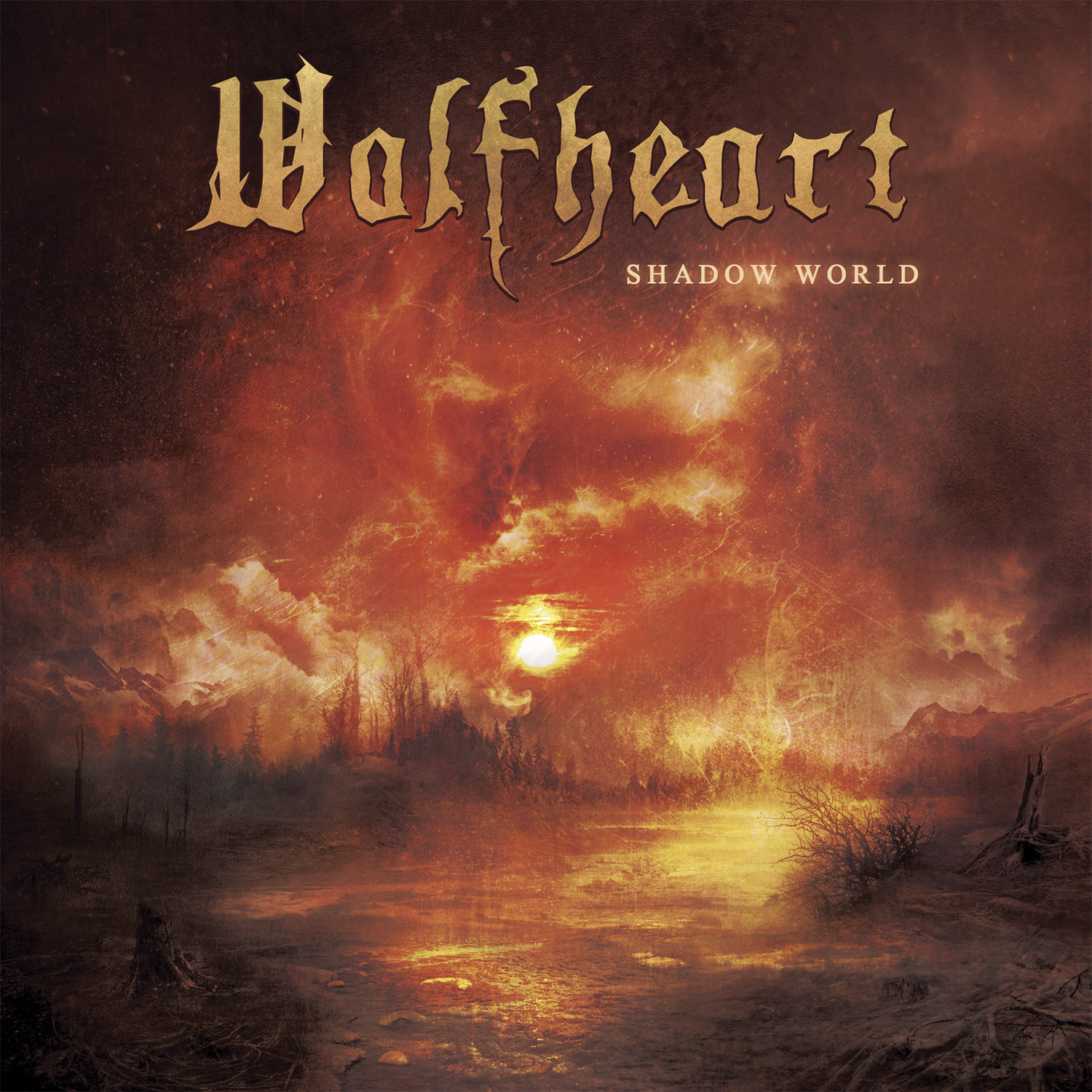 """Wolfheart - """"Shadow World"""" Cover"""