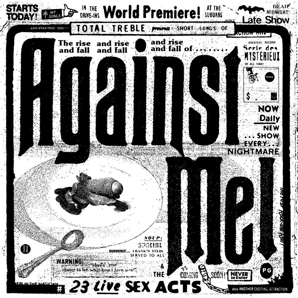 "Against Me! - ""23 Live Sex Acts"" Cover"