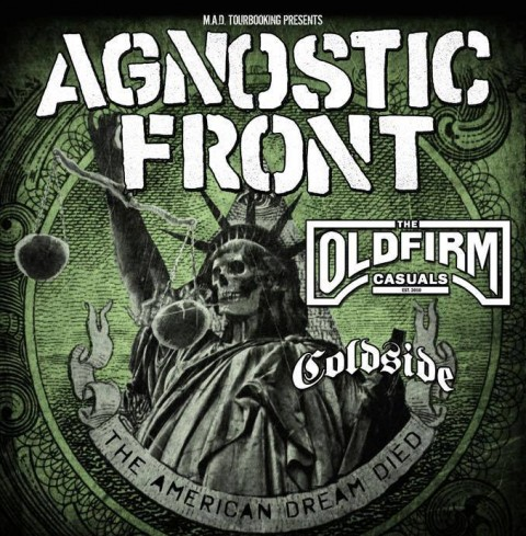 Agnostic Front - The Oldfirm Casuals Tour 2015