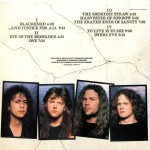 "25 agosto 1988 - esce ""...And Justice for All"" dei Metallica"