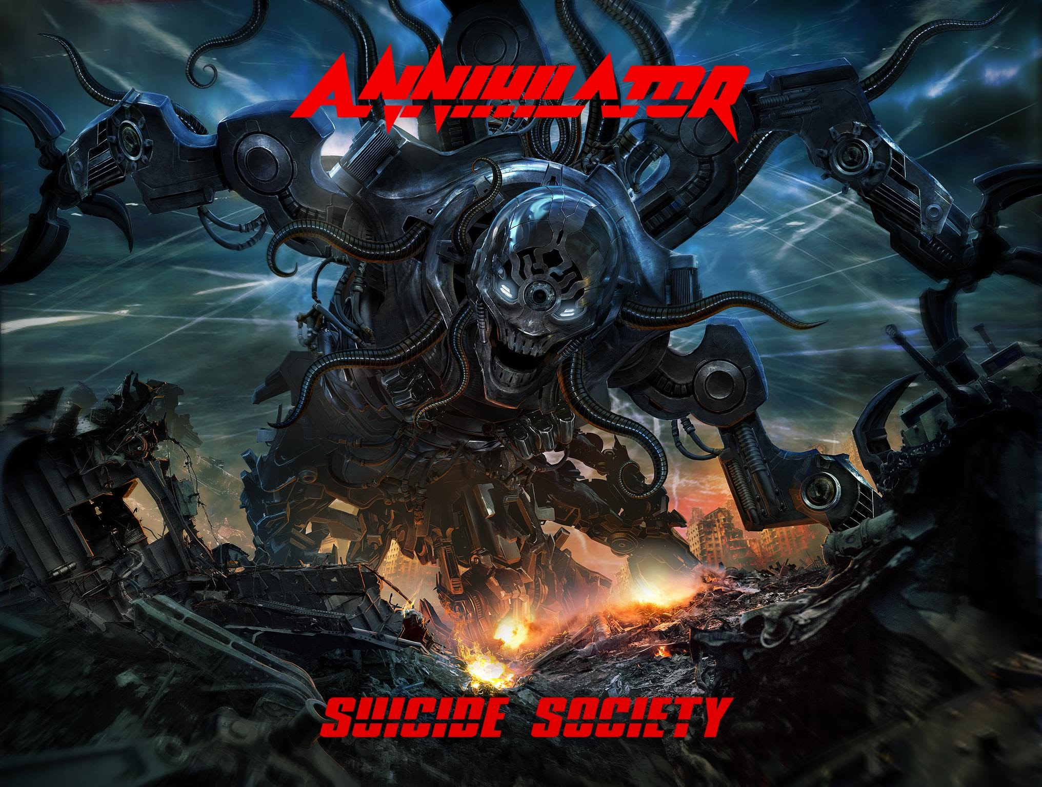 "Annihilator - ""Suicide Society"" Cover"