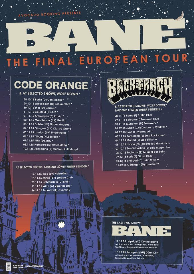 Bane - The Final European Tour 2015